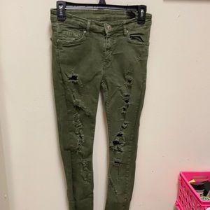 Zara women premium denim jeans Size O